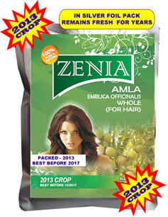 Zenia Whole Dry Amla - Indian Gooseberry for Hair Care  Promote Hair growth