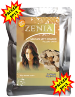Zenia Multani Mitti Powder Fullers Eart for Hair and skin Cleansingry  Natural Face Pack