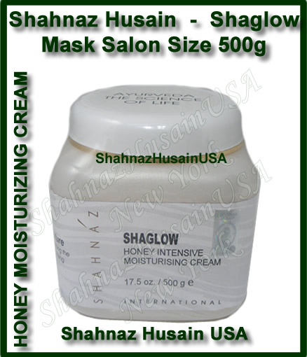 Shahnaz Husain Shaglow Honey Intensive Moisturising Cream Salon Size