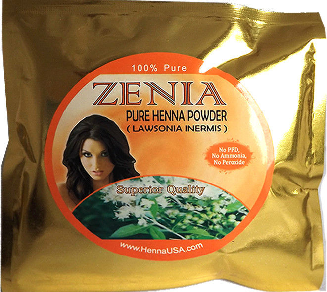 USA Zenia Pure Henna Powder