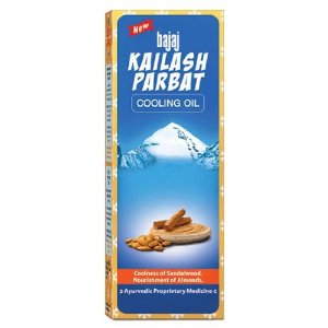 200ml Bajaj Kailash Parbat Cooling Oil