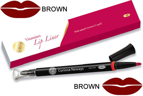 Vitamin Lip Liner Pen Brown