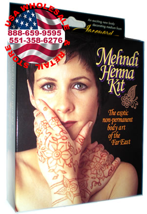 Temporary Henna Tattoo Kit 1
