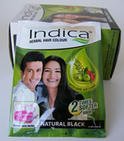 Indica Herbal Hair Dye Black