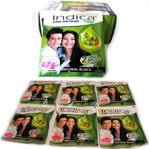 Indica Herbal Black Hair Dye - Black