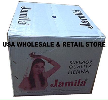2016 Crop Wholesale Jamila Henna Powder for Hair Case of 100pc