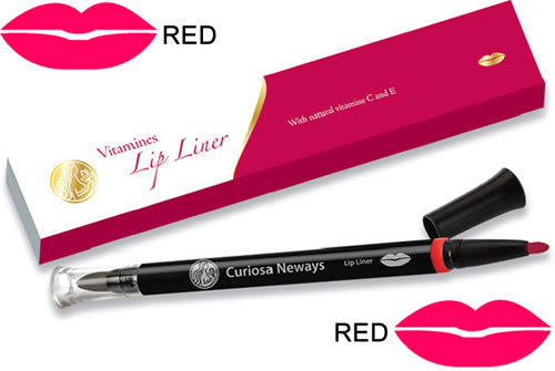 Vitamin Lip Liner Pen Red